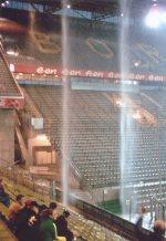 Regenguss im Westfalenstadion