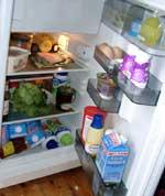 Foto (Thumb) Inhalt des Kühlschrankes