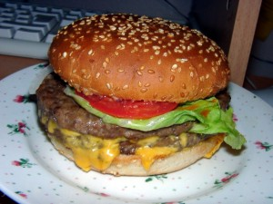 I am not addicted to burger! (09060033)