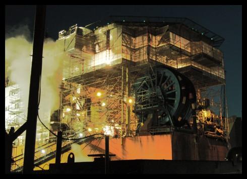 Blohm & Voss bei Nacht (28.06.2009)